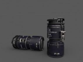 炸弹  3d模型