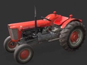 农用拖拉机CG模型