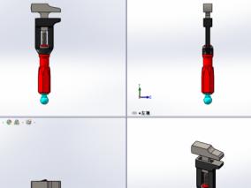 扳手3D模型
