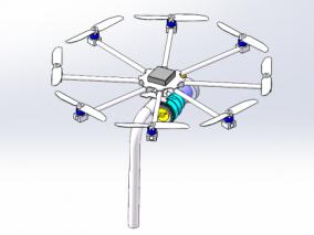 无人机  飞行器  航模  航空  3d模型