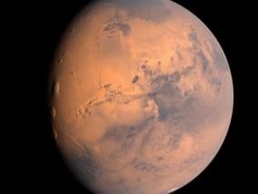 外星球火星CG模型