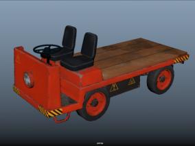 工厂运输车CG模型