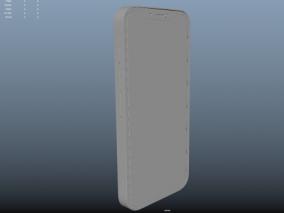 maya制作的苹果12手机模型 3d模型