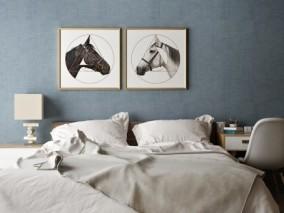 床 3d模型