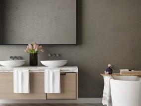 柜子 电视机 卫浴 浴缸 3d模型