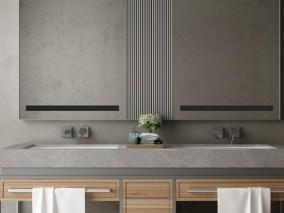 梳妆台 洗浴间 3d模型