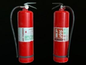 高级二氧化碳灭火器 消防 写实 干粉 手提式泡沫灭火器 3d模型