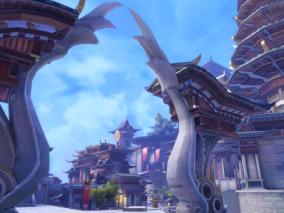 古代主城 写实 古主城 完整场景 玄幻 仙侠  3d模型