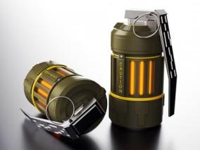 科幻能量手榴弹CG模型