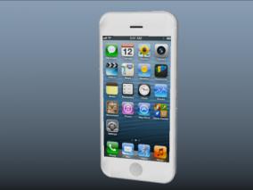苹果手机3D模型