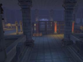 古代场景 地下城 地狱 地牢 3d模型