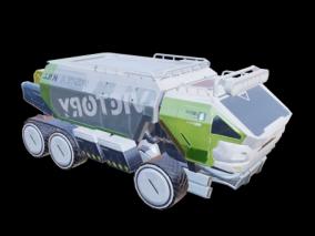 运输车 3d模型
