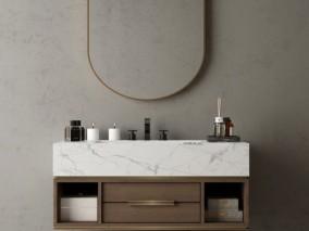 柜子 梳妆台 洗浴台 3d模型