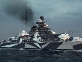 军舰 3d模型