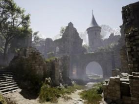 城堡   3d模型