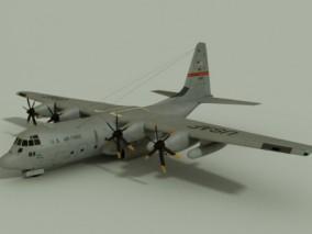 运输机 3d模型