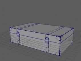 maya模型 皮箱 3d模型