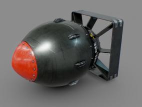 次时代炮弹原子弹CG模型