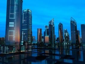 智慧城市数字化科技城市Cg场景模型
