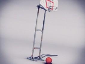 篮板 3d模型