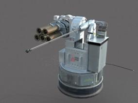 武器系统 3d模型