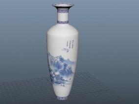 青花瓷 3d模型