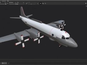 侦察机  ep3侦察机 飞机 3d模型