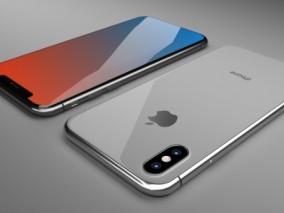 iPhoneX手机3D模型