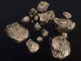 石头 3d模型