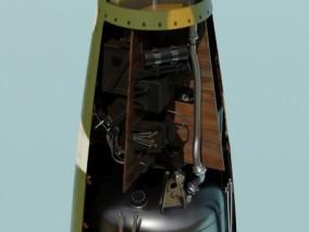 火箭  3d模型