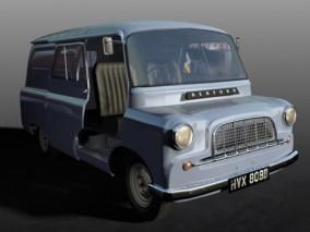 贝德福德汽车迷你巴士CG模型