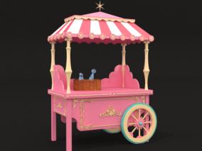 售卖车美陈DP设计3D模型