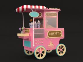 售卖车美陈设计3D模型