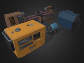 工具 3d模型