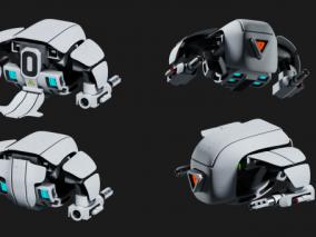 无人机 3d模型