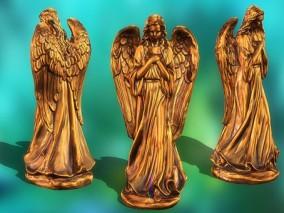 神像  3d模型