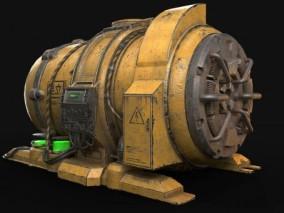 发电机 3d模型