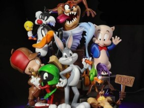 兔八哥人物角色3D打印模型