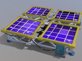 太阳能板 3d模型