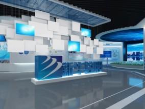现代科技展厅 3d模型