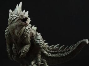 哥斯拉  怪兽 3d模型