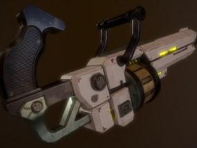 榴弹发射器  3d模型