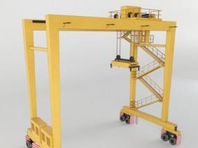 集装箱起重机 3d模型
