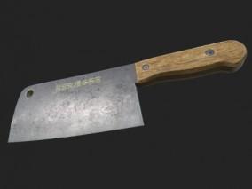 屠夫刀 3d模型