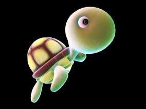 卡通乌龟 海龟 3d模型