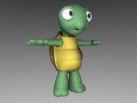 乌龟 3d模型