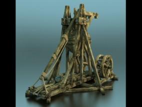 投石机 投石器  3d模型