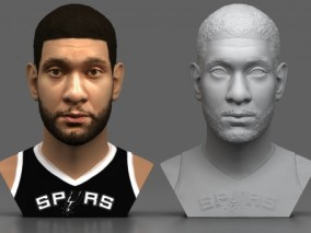 蒂姆邓肯 NBA球星 篮球运动员