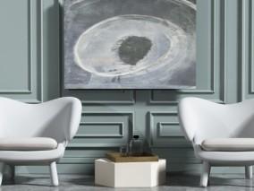 现代时尚简约桌子椅子 3d模型