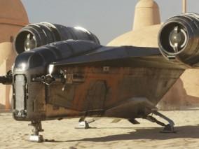 星际飞船 科幻飞船 星球大战战舰CG模型